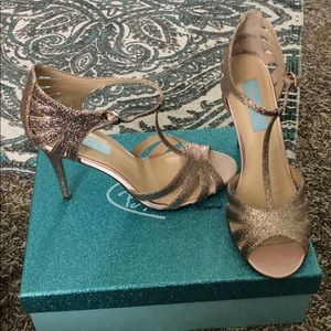 Rose Gold Betsey Johnson Heels